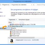 Amazon Assistant verwijderen